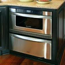 24 Warming Drawer Microwave Sharp And  For Island In H80