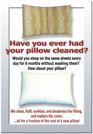 feather pillows cleaning pillow