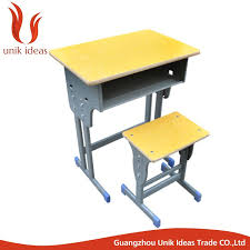 classical standard size of school desk chair student school furniture wood student table chair