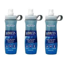 Brita Sport Water Filter Bottle 20 Ounce Pack of 3 FireflyBuyscom