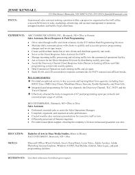 Sale Assistant Resume Objective Najmlaemah Com