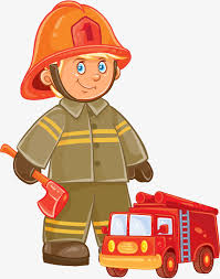 Image result for firefighter clipart