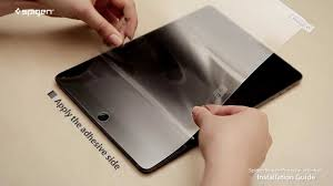 "Spigen <b>screen protector</b> steinheil Installation guide "" <b>Tablet PC</b> ..."