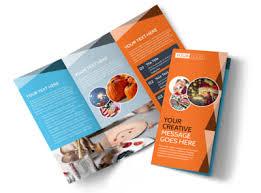 Fun Brochure Templates Fun Holiday Party Service Tri Fold Brochure Template