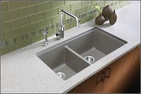 kitchen sinks reviews beautiful posite granite kitchen sink vs stainless steel fresh blanco