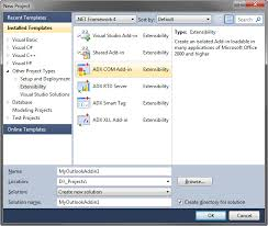 Create Outlook Writing Outlook Com Add In Plugin In C C Vb Net