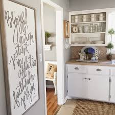 Light Silver Grey Wall Paint Remodelaholic Color Spotlight Benjamin Moore Coventry Gray