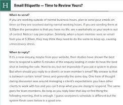 Email Etiquette What Is Acceptable In A Professional Setting