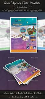Travel Agency Flyer Templates Commerce Flyers Design