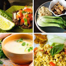 Vegan Menu Selections
