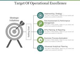 Operational Excellence Example Target Of Operational Excellence Ppt Samples Download