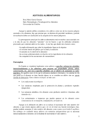 Aditivos Alimentarios Pdf Download Available