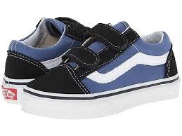 Vans Toddler Shoe Size Chart Vans Kids Old Skool V Little Kid Big Kid Boys Shoes Navy