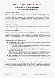 54 Fresh Stocks Of Personal Trainer Resume Examples Best