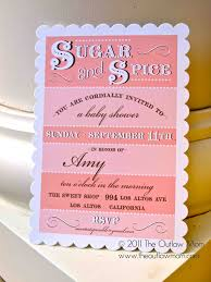 Anthologie Press  Sugar And Spice Baby ShowerSugar And Spice Baby Shower Favors