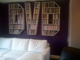 Space Saving Dvd Storage Furnitures Modern Image Of Living Room Decoration Using Mount