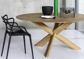 Circle Table Ethnicraft Eiche Circle Table Esstisch