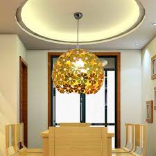 yellow pendant lighting. Luxury Living Room Lighting With Pendant Lamp In Modern Design Hanging On Round Ceiling Yellow S