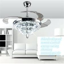 modern ceiling fans lights led crystal chandelier fan lights invisible fan crystal lights living room bedroom restaurant modern ceiling fan inch with remote