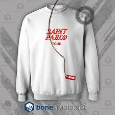 Saint Pablo Tour Kanye West Sweatshirt Unisex Size S M L Xl 2xl 3xl