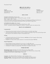 14 Easy Ways To Facilitate Free Functional Format Resume