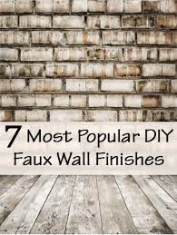 Most faux painting projects are simple enough for a beginner. They can add  such an