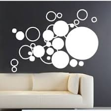 Ringlets and Dots Wall Decal