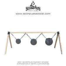 2in1 scorpius modular target stand use with idpa paper and ar500 steel targets 119 deals