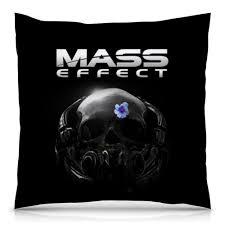 Подушка 40х40 с полной запечаткой <b>Mass Effect</b> #2451318 в ...