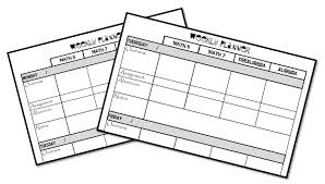 planner 3 middle school math mania never a dull moment page 2 on plumbing job sheet template