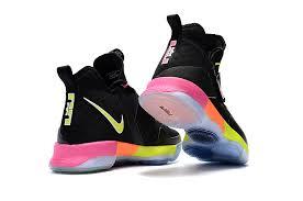 lebron shoes 14. nike lebron 14 for kids black/volt-peach lebron shoes