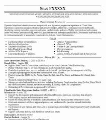 Sales Analyst Resume Sales Operations Analyst Objectives Resume Objective