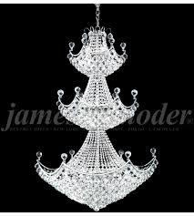 james r moder 94143s00 jacqueline 29 light 36 inch silver entry chandelier ceiling light photo