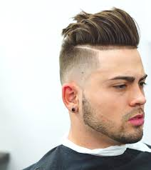 Hairstyles Pompadour Fade With Line Charming The Best Haircuts For