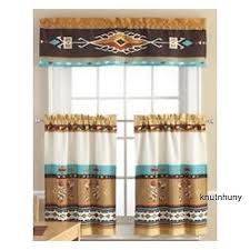 Southwestern Kitchen Curtains