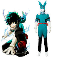 Details About My Boku No Hero Academia S3 Izuku Midoriya Cosplay Costume Battle Suit Remake