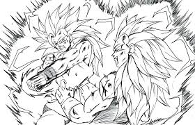 Dragonball Z Coloring Pages Dbz Color Pages Delightful Decoration