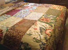Frayed seams bedspread cover | Quilting Ideas | Pinterest & Reversible easy to make bedspread blanket quilt Adamdwight.com
