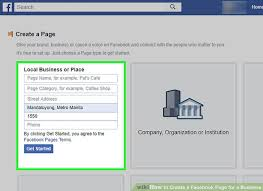 image led create a facebook page for a business step 26