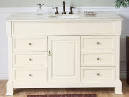 single sink white bathroom vanity. single sink bathroom vanity in cream white · loading zoom n