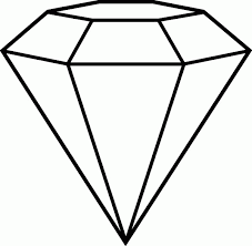 Small Picture Diamond Shape Coloring Page Coloring Home
