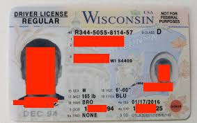 Id Wisconsin Maker Fake Card