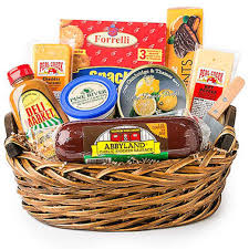 deli direct wisconsin cheese sausage um gift basket 9 pc ebay
