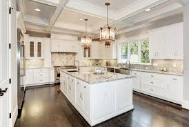 kitchens with white cabinets. Simple White U Shaped Kitchen Design With White Cabinets In Kitchens With White Cabinets