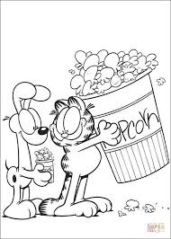 Small Picture Popcorn coloring page Free Printable Coloring Pages