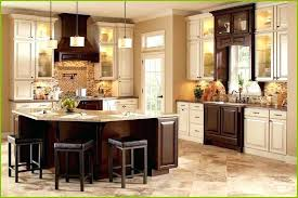 Off white kitchens Marble White Kitchens With Dark Islands Off White Kitchen Cabinets With Dark Island Beautiful Two Tone Kitchen White Kitchens Homebnc White Kitchens With Dark Islands Off White Cabinets With Dark Island