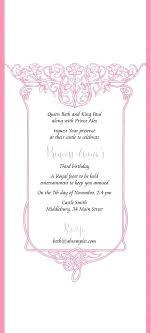 Scroll Birthday Invitations Royal Princess Invitation Wording Royal Princess Birthday