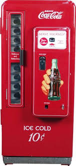 How To Fix A Soda Vending Machine Inspiration Vintage Coca Cola Soda Vending Machinesput Money In And Pull Out