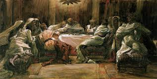 last supper painting the last supper by tissot