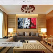 Painting Of Living Room Aliexpresscom Buy Skills Artist Hand Painted Modern Canvas